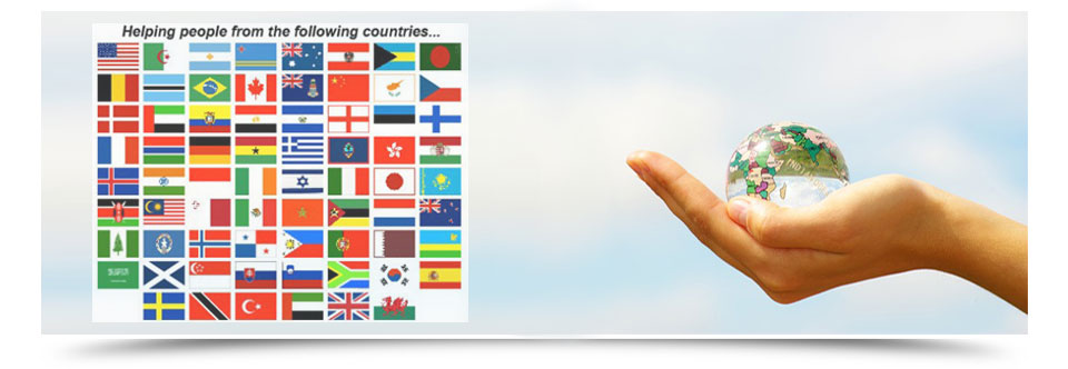 Helping People from the Following Countries…