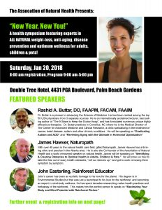 New Year New You Health Symposium 1-20-18