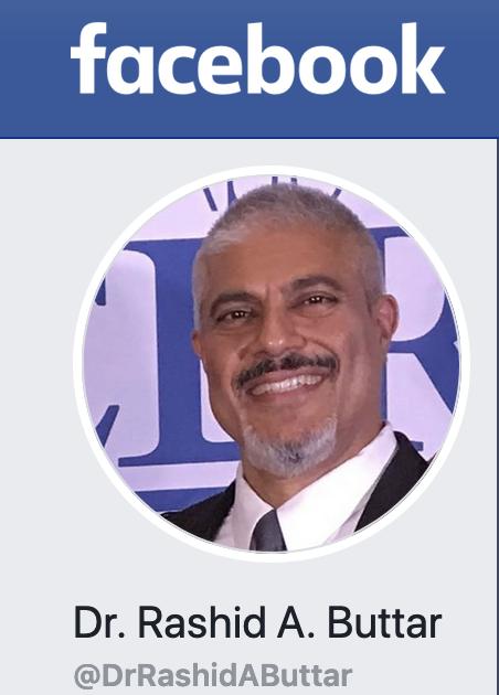 Facebook: Dr. Rashid A Buttar